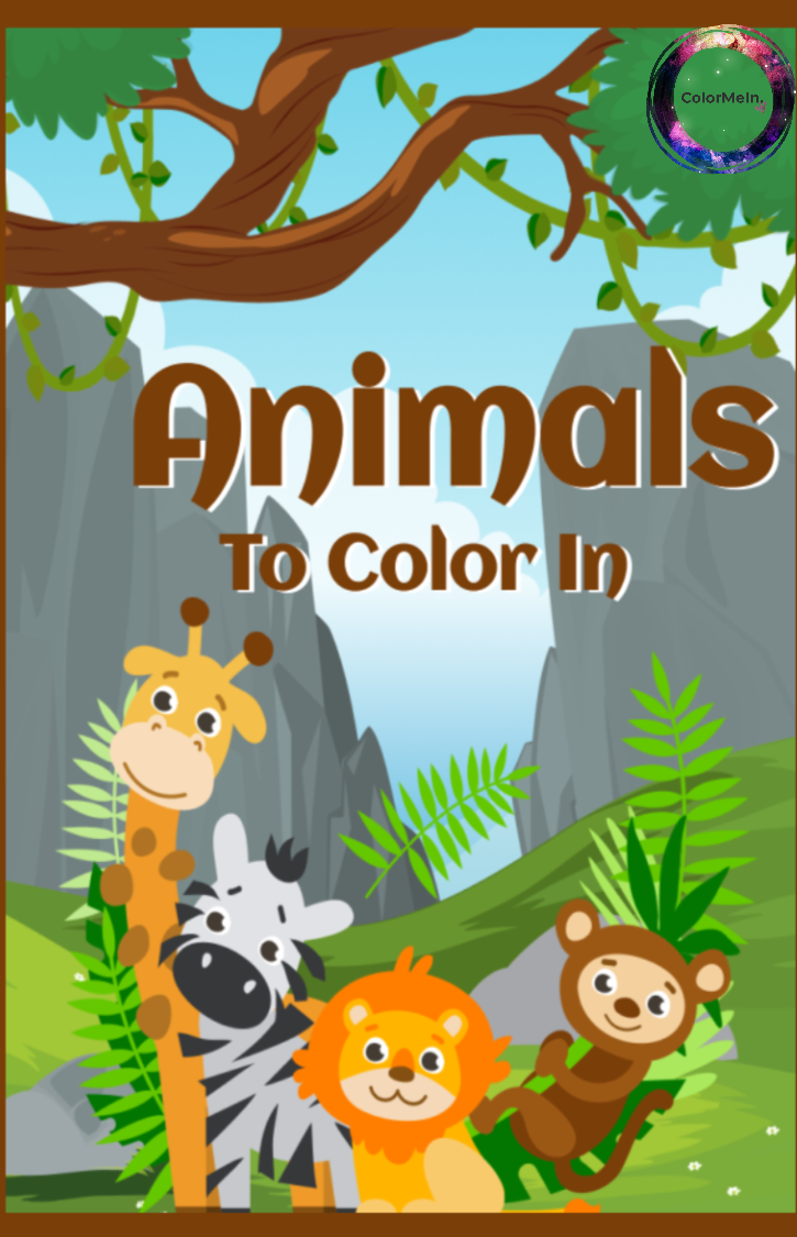 Animals To Color In