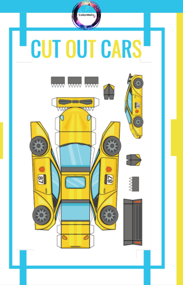 Cut Out Cars