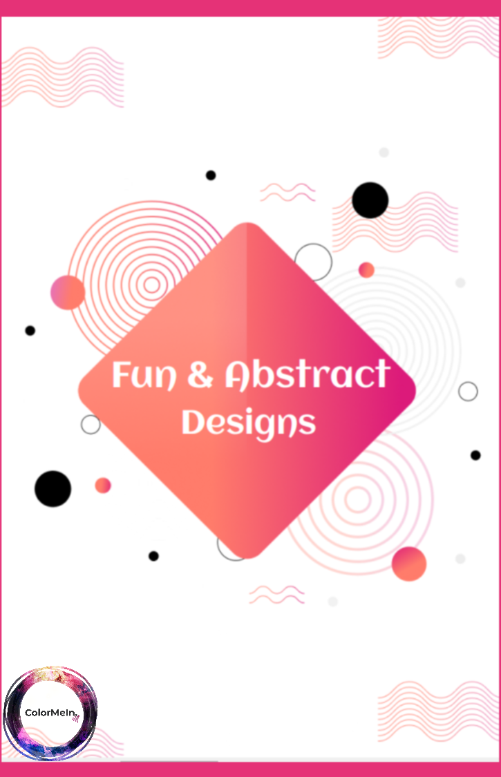 Fun Abstract Designs Coloring Book