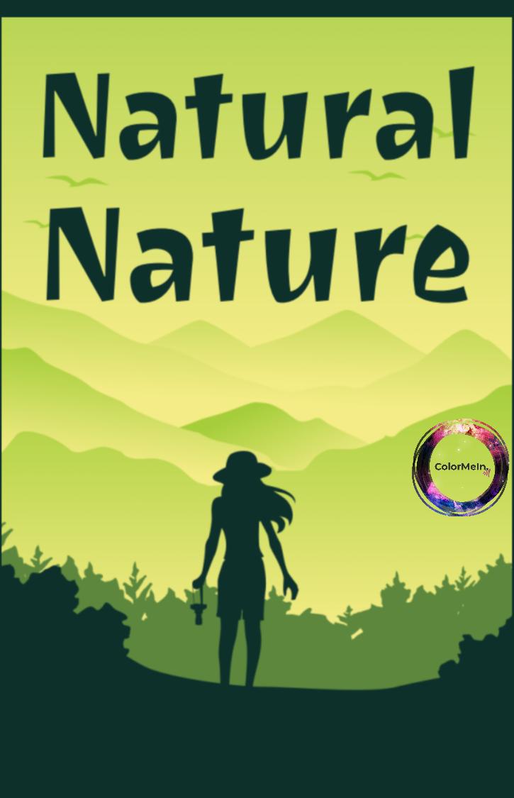 Natural Nature Coloring Book
